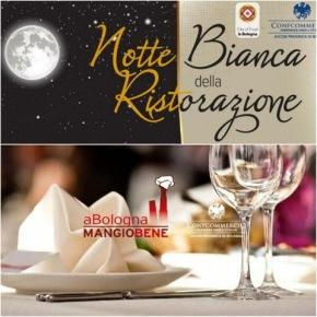 """""""A Bologna mangio bene"""" fino a tardi, Sabato 15/11 con la Notte Bianca dellaRistorazione."""