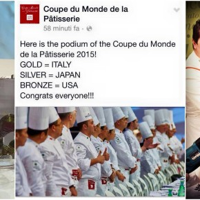 L'Italia è Campione del Mondo di Pasticceria 2015!!!
